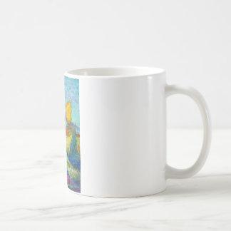 Caneca De Café paisagem da fantasia