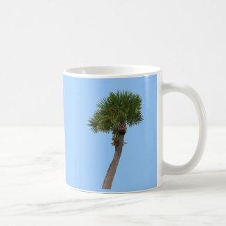 Caneca De Café Palmeira solitária