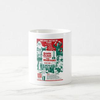 Caneca De Café Papai Noel conquista os Marciano