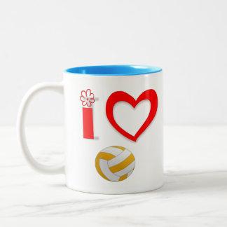 Caneca de café para amantes dos esportes