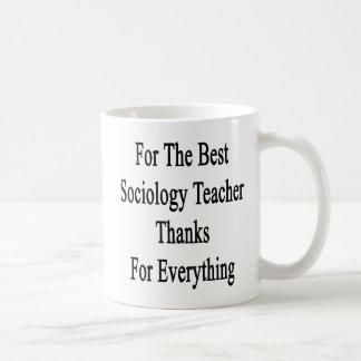 Caneca De Café Para os melhores obrigados do professor da
