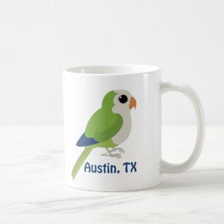 Caneca De Café Parakeet da monge - Austin, Texas