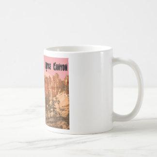 Caneca De Café Parque nacional da garganta de Bryce, Utá
