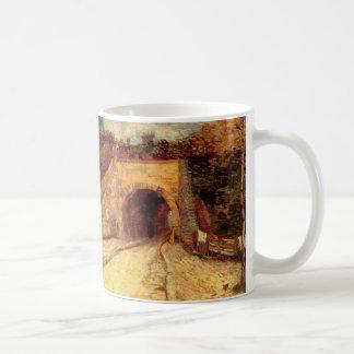Caneca De Café Passagem subterrânea da estrada de Van Gogh, o