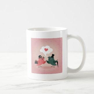 Caneca De Café Pássaro de love7