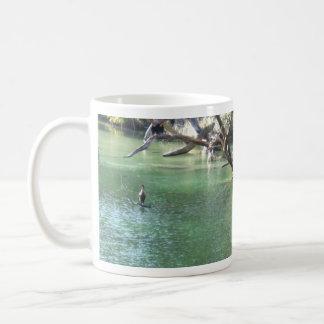 Caneca De Café Pássaros do rio