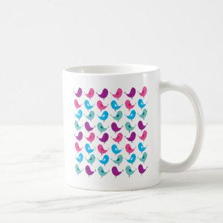 Caneca De Café Pássaros pequenos