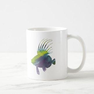 Caneca De Café Peixes do Dory - arte colorida dos peixes