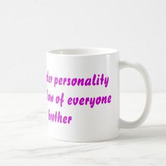 Caneca De Café Personalidade do líder
