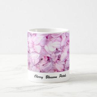 Caneca De Café Pétalas da flor de cerejeira