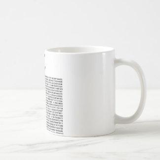 Caneca De Café Pi = 3,141592653589 etc. etc… o que quer que!