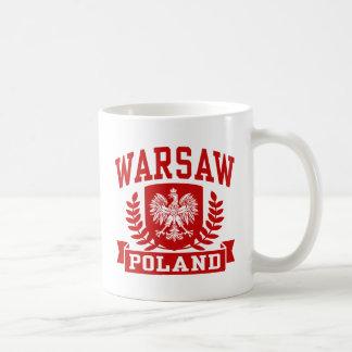 Caneca De Café Polônia de Varsóvia