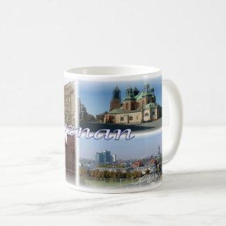 Caneca De Café Polônia do PL - Polska - Poznan -