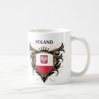 Caneca De Café Polônia [personalize]