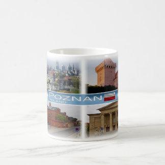 Caneca De Café Polônia Polska do PL - Poznan -