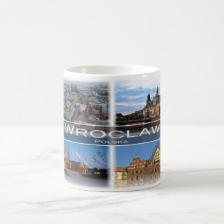 Caneca De Café Polônia Polska do PL - Wroclaw -