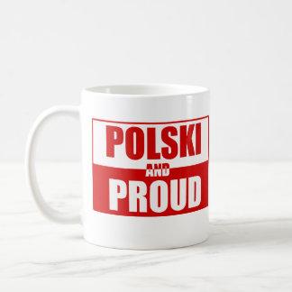 Caneca De Café Polski e orgulhoso