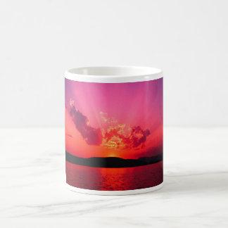 Caneca De Café Por do sol bonito