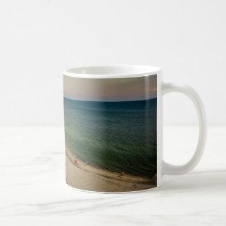 Caneca De Café Por do sol bonito de Florida da costa oeste