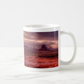 Caneca De Café Por do sol do vale do monumento