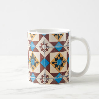 Caneca De Café porcelana do azulejo de Portugal da decoração de