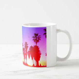 Caneca De Café Praia de Veneza das palmeiras