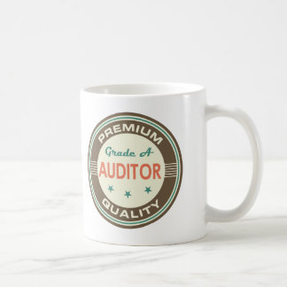 Caneca De Café Presente (engraçado) superior do auditor da