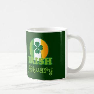 Caneca De Café Presente irlandês do escrivão