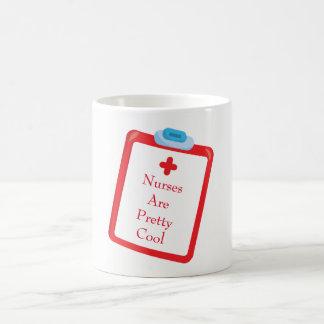 Caneca De Café Presentes para a prancheta das enfermeiras