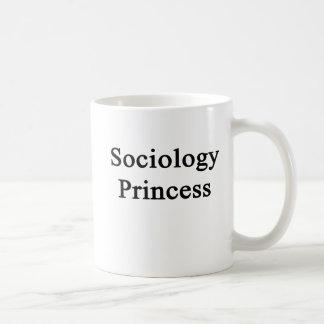 Caneca De Café Princesa da Sociologia