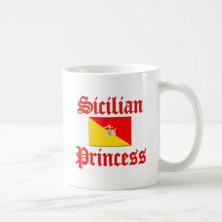 Caneca De Café Princesa siciliano
