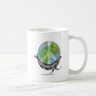 Caneca De Café Projeto da paz da baleia de Humpback