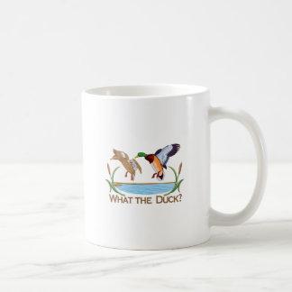 Caneca De Café Que o pato?