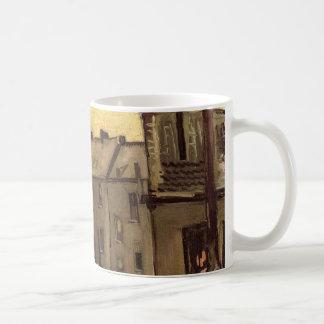 Caneca De Café Quintais de casas velhas por Vincent van Gogh