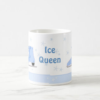 Caneca De Café Rainha do gelo - design de patinagem