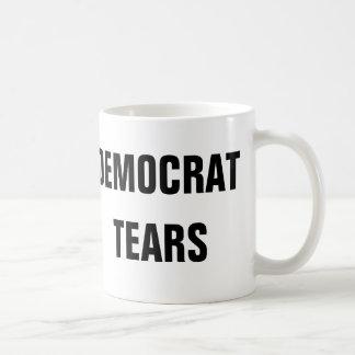 Caneca De Café Rasgos de Democrata