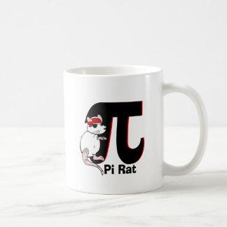 Caneca De Café Rato do pirata do dia do Pi