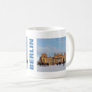 Caneca De Café Reichstag_001.02.T nevado (Reichstag im Schnee)