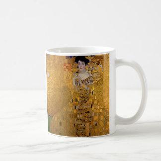 Caneca De Café Retrato de Adele Bloch-Bauer por Gustavo Klimt