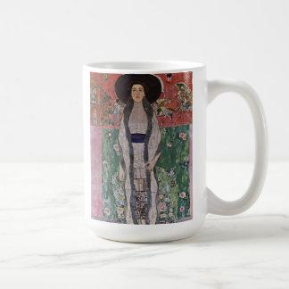 Caneca De Café Retrato de Gustavo Klimt de Adele Bloch-Bauer II