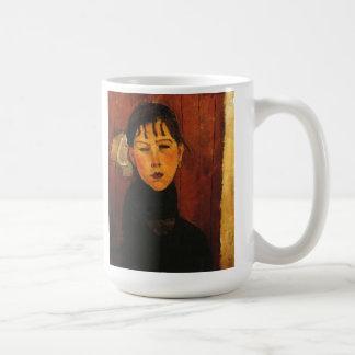 Caneca De Café Retrato de Modigliani Amedeo