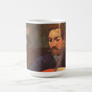Caneca De Café Retrato de Schneklud do jogador por Paul Gauguin