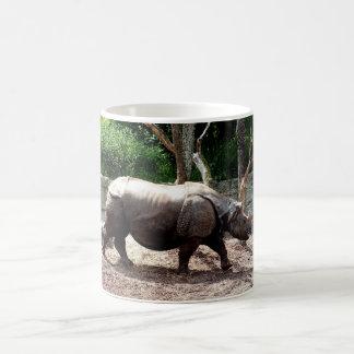 Caneca De Café Rinoceronte indiano