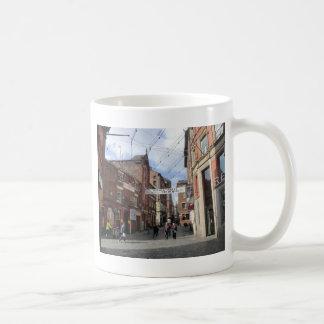 Caneca De Café Rua de Mathew em Liverpool