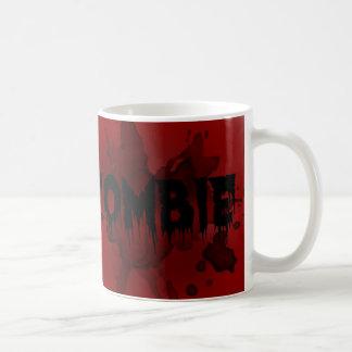 Caneca De Café sangue e zombi