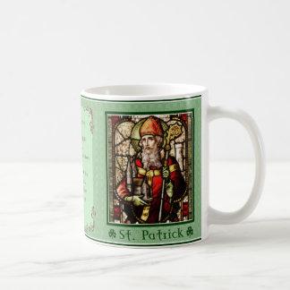 Caneca De Café Santo Patrick - bênção irlandesa