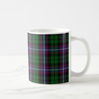 Caneca De Café Scottish do Tartan de Russell do clã