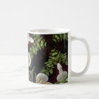 Caneca De Café Selva da orquídea
