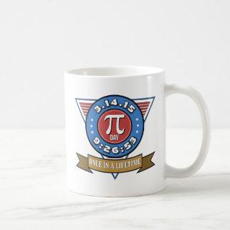 Caneca De Café Símbolo do dia do Pi para o copo dos nerd da