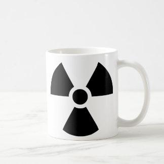Caneca De Café Símbolo do Trefoil da radiação